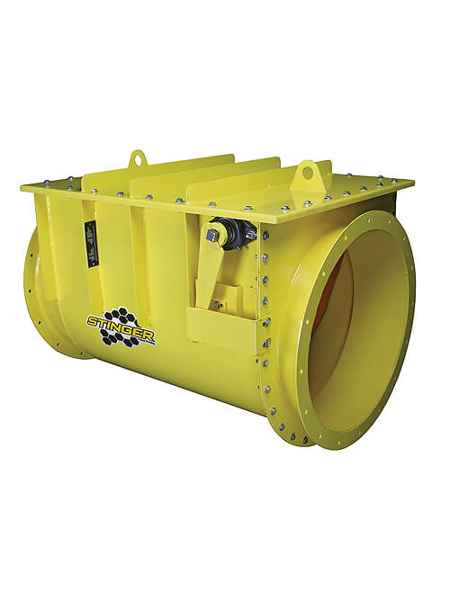 Stinger Explosion Isolation Valve