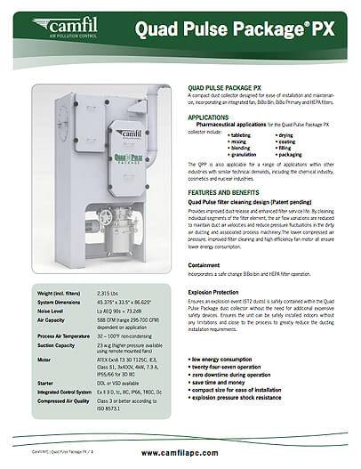 Product Sheet - Quad Pulse Package PX