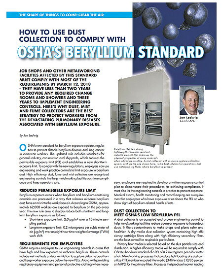 How to Use Dust Collection to Comply with OSHA