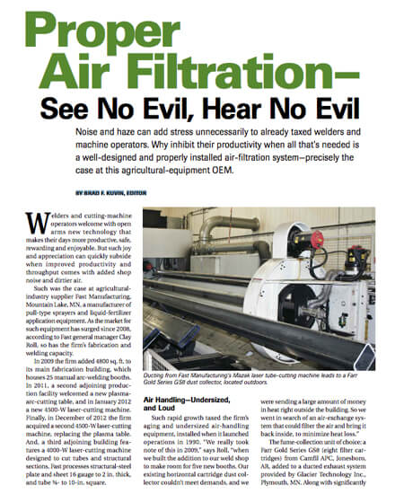Proper Air Filtration - See No Evil, Hear No Evil