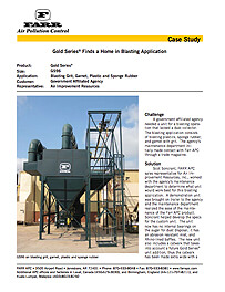 Gold Series® Finds a Home in Blasting Application