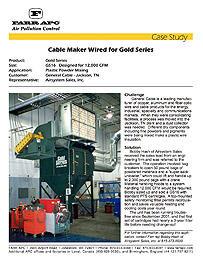 Cable Maker Wired for Gold Series
