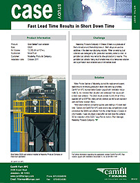 Fast Lead Time Results in Short Down Time