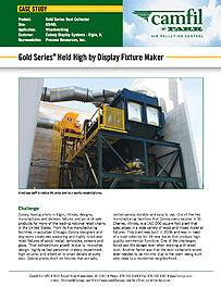 Gold Series®  Held High by Display Fixture Maker
