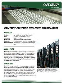 CAMTAIN® CONTAINS EXPLOSIVE PHARMA DUST