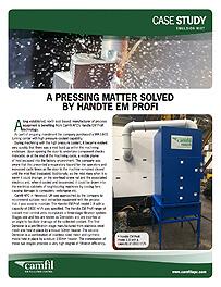 A PRESSING MATTER SOLVED BY HANDTE EM PROFI
