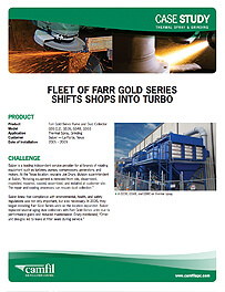 FLEET OF GOLD SERIES SHIFTS SHOPS INTO TURBO