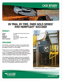 IN TRIAL BY FIRE, GOLD SERIES® AND HEMIPLEAT® SUCCEED