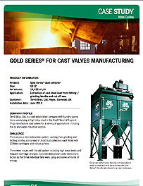 Gold Series® for Cast Valves Manufacturing