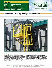 Gold Series®  Cleans Up Detergent Dust Dilemma