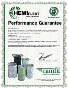 Camfil APC Performance Guarantee