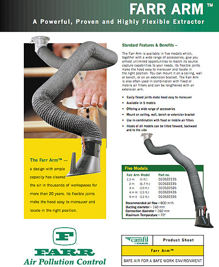 FARR ARM™ - A Powerful, Proven and Highly Flexible Extractor