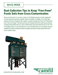 Dust Collection Tips to Keep Free-From Foods Safe