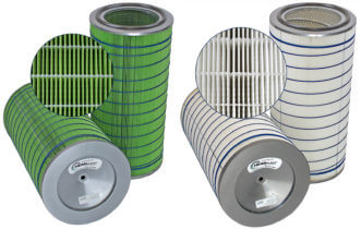Retrofit HemiPleat Industrial Dust Filter