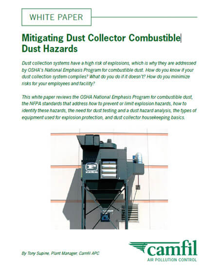 Dust Collectors For Chemical Processing