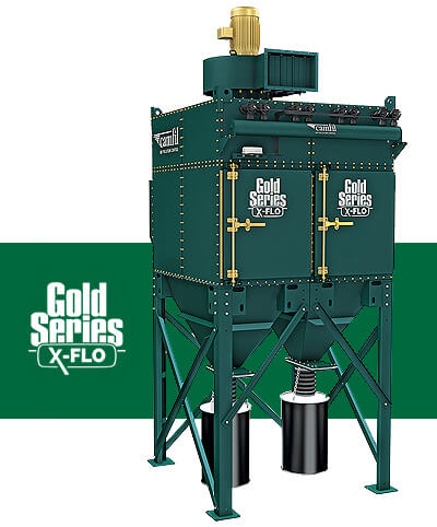 Industrial Dust Collector - X-FLO Gold Series