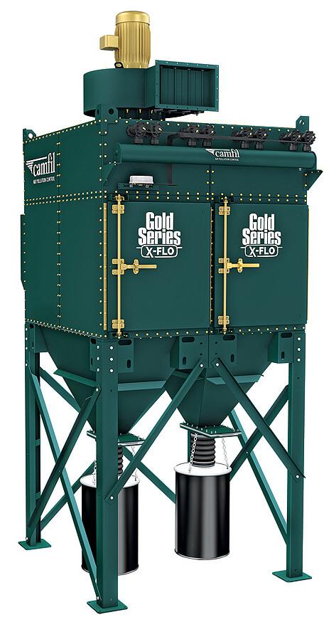 00bc9e0fa37515 Gold Series X-FLO Industrial Dust Collector | Camfill APC ...