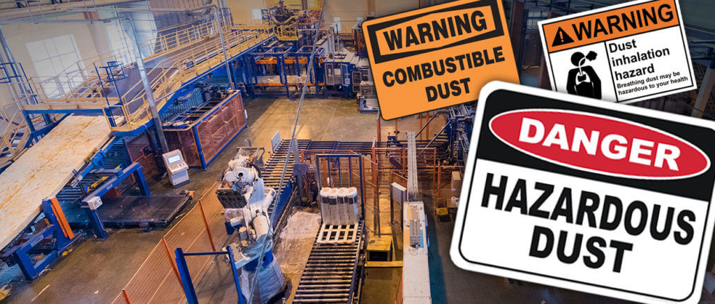 Dust, especially airborne dust particles, must be safely collected and contained to protect worker safety and meet regulatory compliance.