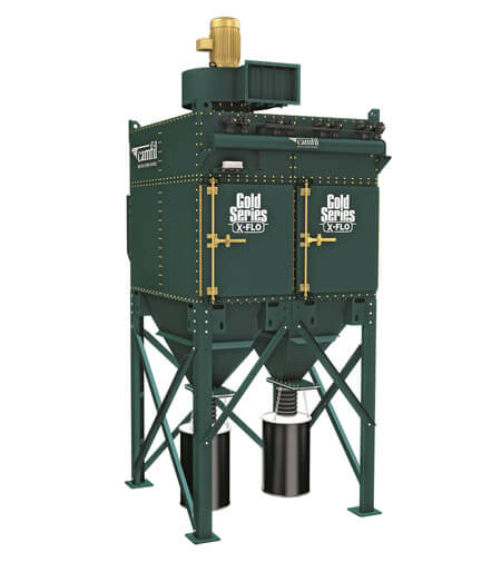 Gold Series X-Flo Dust Collector