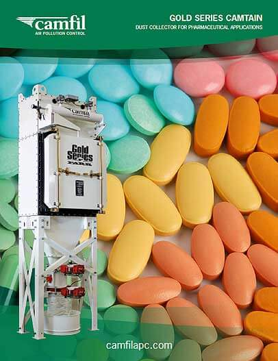 Dust Collector for Pharmaceutical Applications