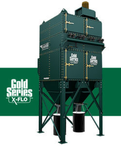 camfil apc gold series x-flo modular industrial dust collector