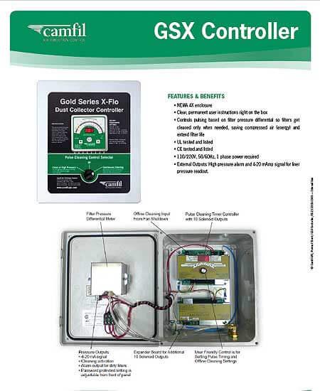 GSX Controller Product Sheet