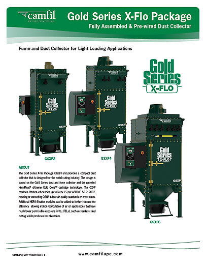 Gold Series X-Flo Package Product Sheet
