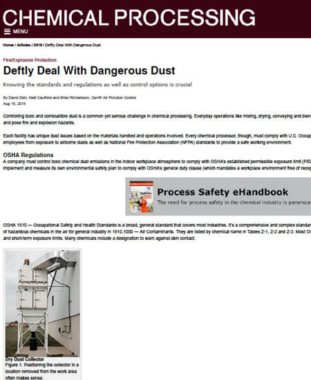 Deftly Deal With Dangerous Dust