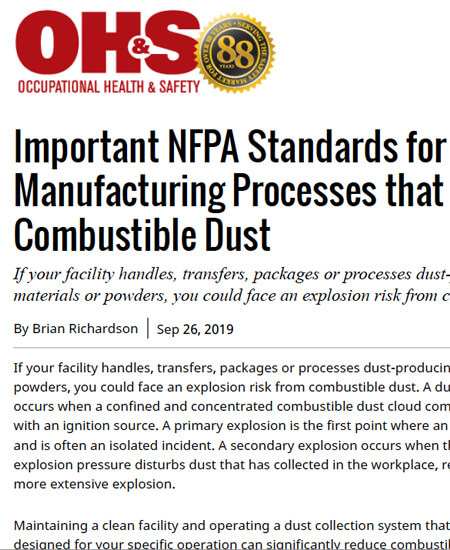 OHS NFPA Standards
