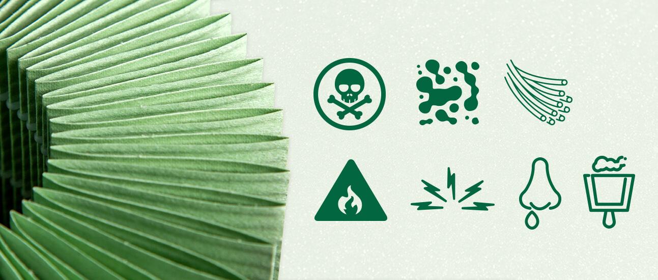 gefahren emissionen symbole