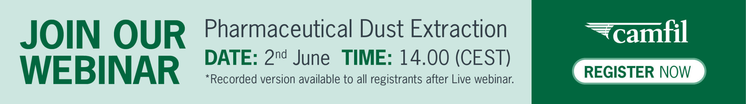 PHARMACEUTICAL DUST EXTRACTION: CHALLENGES TO CONTAINMENT, EXPLOSION PROTECTION AND SYSTEM PERFORMANCE EVALUATION