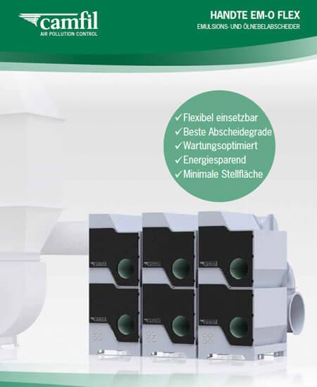 Emulsion and Oil Mist Separator Handte EM-O Flex
