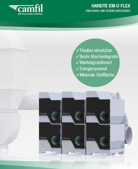Emulsions- u. Ölnebelabscheider Handte EM-O Flex