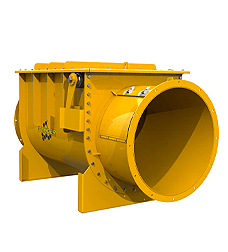 Explosionsdruckentlastung Schüttgutbehälter