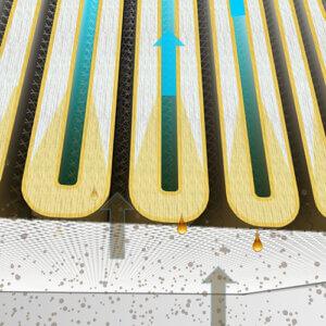 emulsionsnebel filter coapack filter seitenschnitt ansicht
