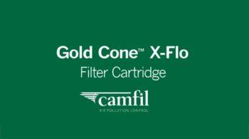 Gold Cone X-Flo filter cartridge