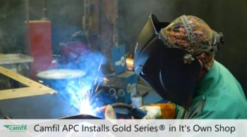 Camfil APC Installs Gold Series® in It's Own Shop