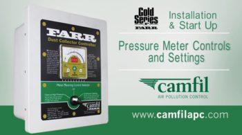 FDC Pressure meter controls and settings
