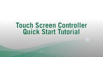 Touch Screen Controller Quick Start Tutorial