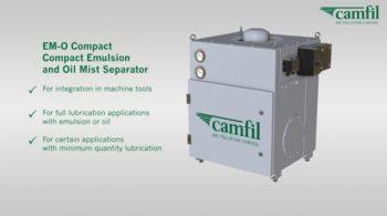 EM-O Compact Emulsion, Mist and Oil Separator